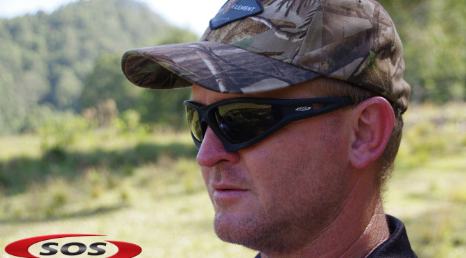 Danny checks out the new Commander 2 shooting glasses from SOS Eyewear
