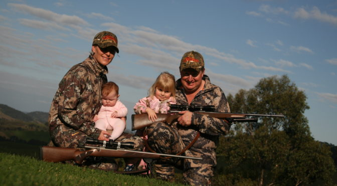 Do you hunt with your family?